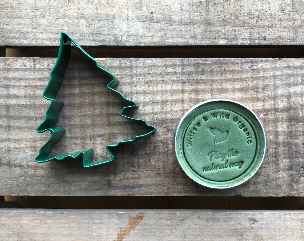 Christmas Green Playdough & Large Tree Cutter