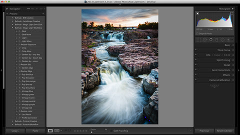Lightroom Presets - Magic Light Landscape Workflow & Creative Presets
