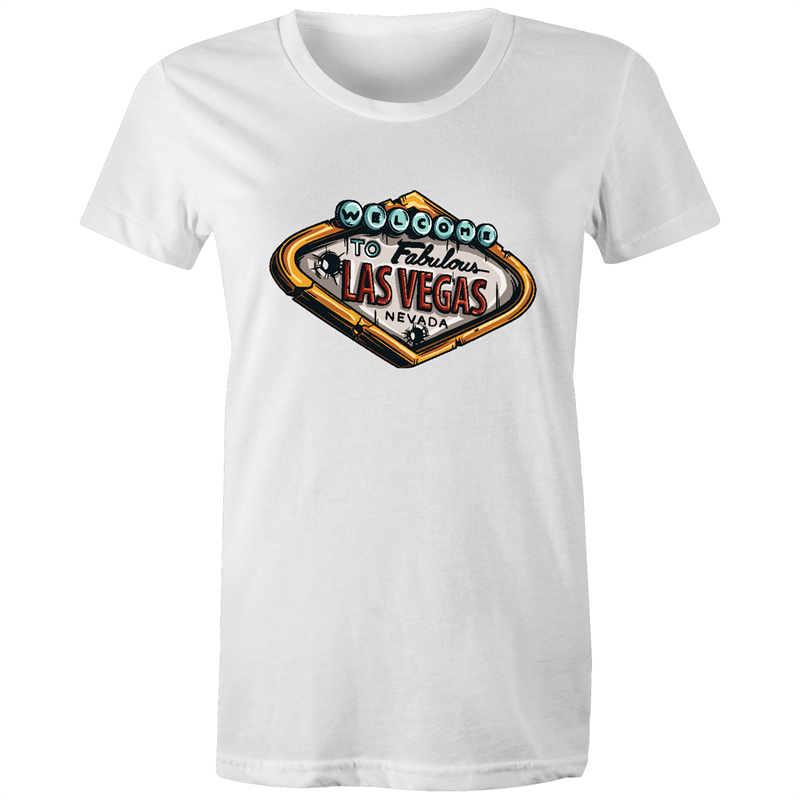 Maple Tee – Welcome to Las Vegas - Women's