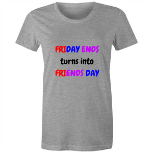 Maple Tee - Friends Day - Women's