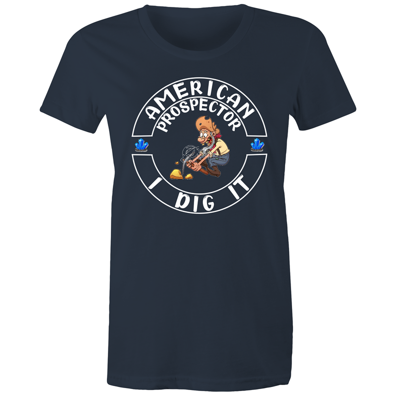 Maple Tee – American prospector I dig it - Women's