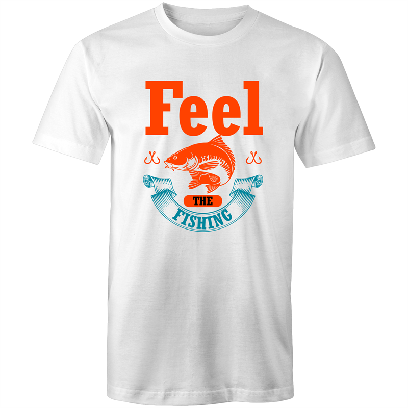 Colour Staple T-Shirt – Feel the fishing - Mens