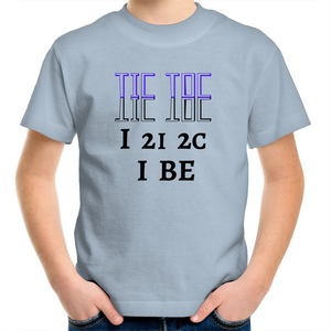 Sportage Surf - Eye to eye to see I be - Black Text - Kids Youth T-Shirt