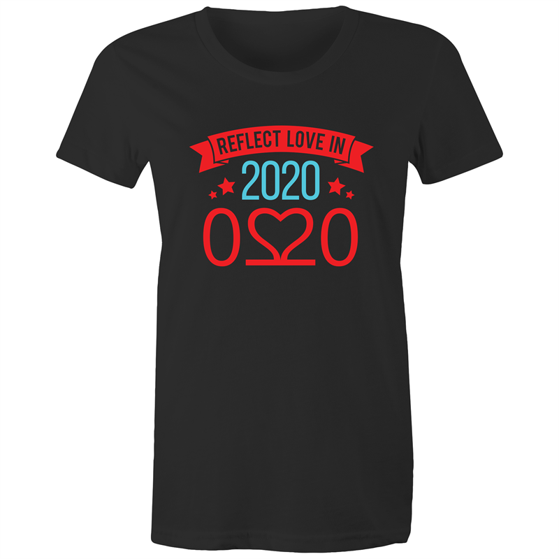 Maple Tee – Reflect love in 2020 - Darker colours - Women's