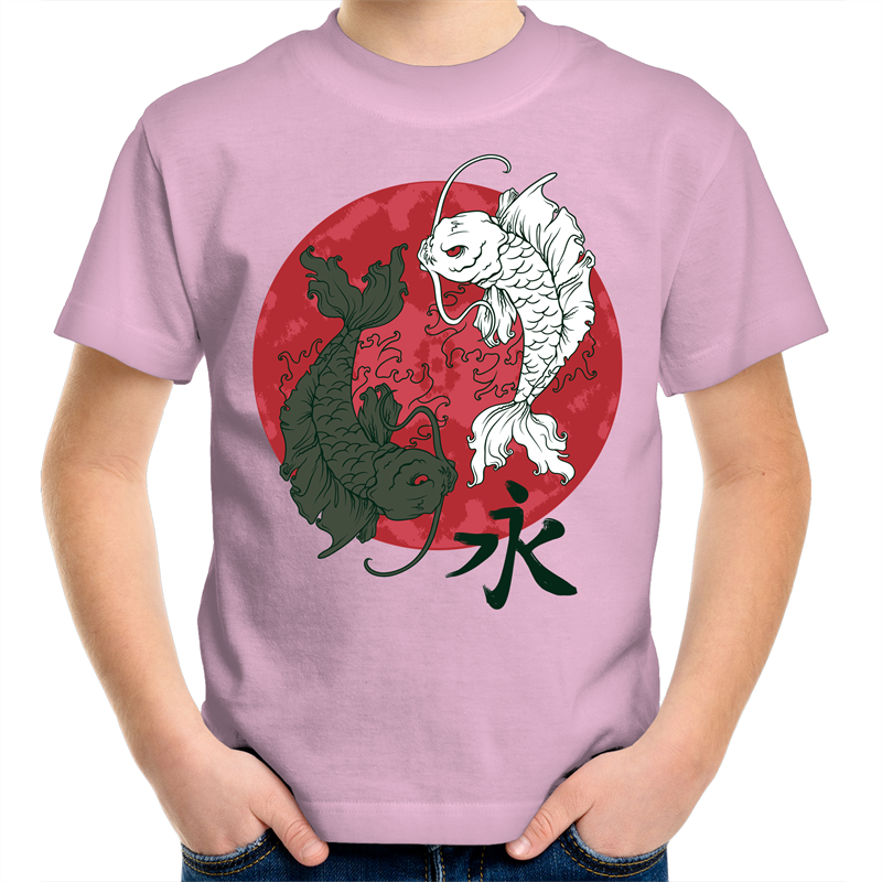 Sportage Surf - Yin Yang fish - Kids Youth T-Shirt