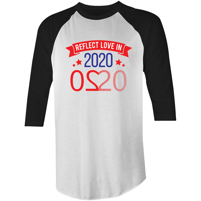 3/4 Sleeve - Reflect Love in 2020 – Mens