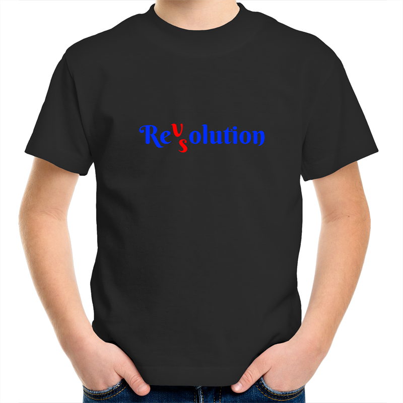 Sportage Surf - Revolution VS Resolution - Kids Youth T-Shirt