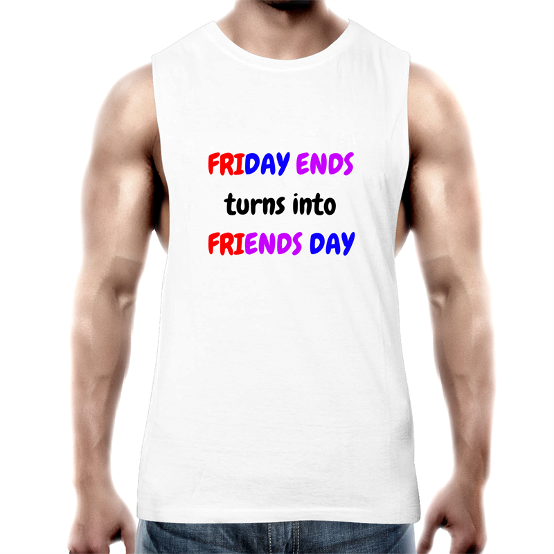 Tank Top Tee - Friends Day - Mens