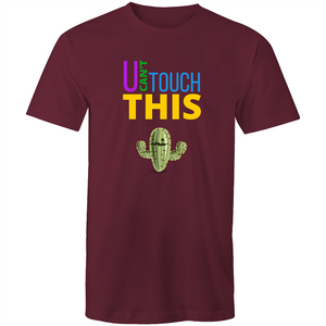 Colour Staple T-Shirt – U can't touch this - cactus - Mens