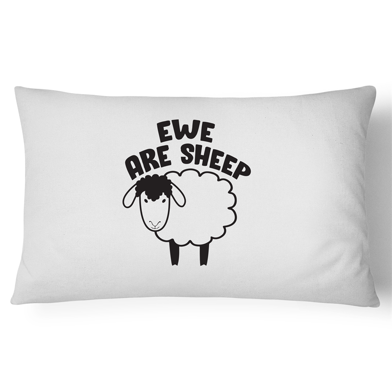 Pillow Case - Ewe are sheep - 100% Cotton