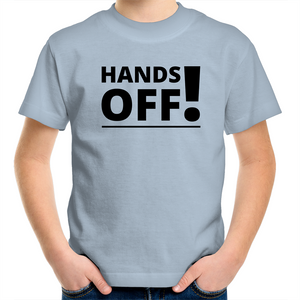 Sportage Surf - Hands Off - Black Text - Kids Youth T-Shirt