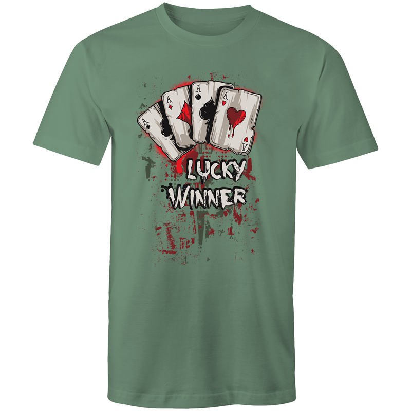 Colour Staple T-Shirt – Lucky winner - Mens
