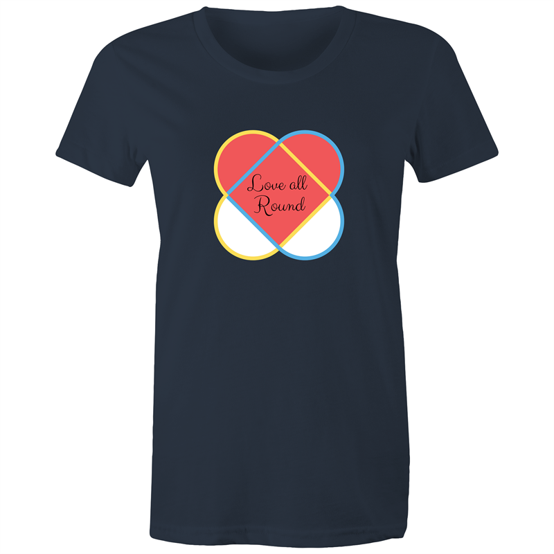 Maple Tee – Love all around - Women's