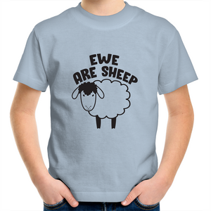 Sportage Surf - Ewe are sheep - Black text - Kids Youth T-Shirt