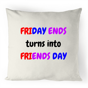 Cushion Cover - Friends Day - 100% Linen