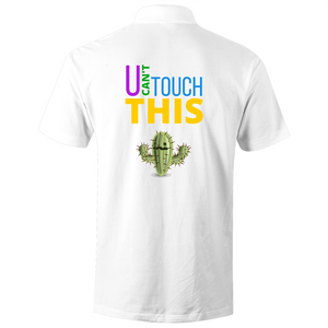 Polo Shirt - U can't touch this - cactus - AS Colour Chad