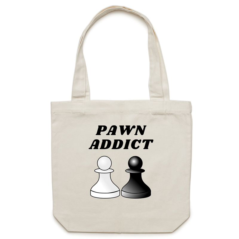 Canvas Tote Bag - Pawn Addict – Carrie