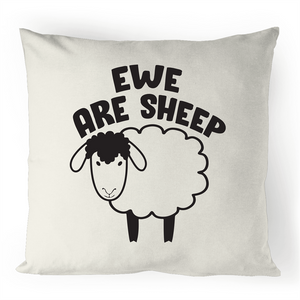 Cushion Cover - Ewe are sheep - 100% Linen