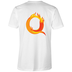 V-Neck Tee T-Shirt - Q - Mens