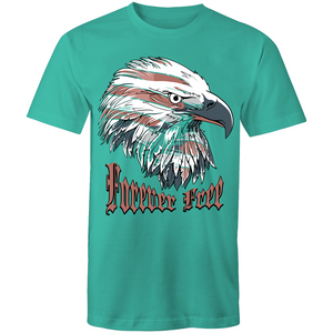 Colour Staple T-Shirt – American Forever Free - Mens