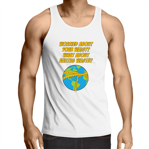 Singlet Top - Don't pander to racism – Mens