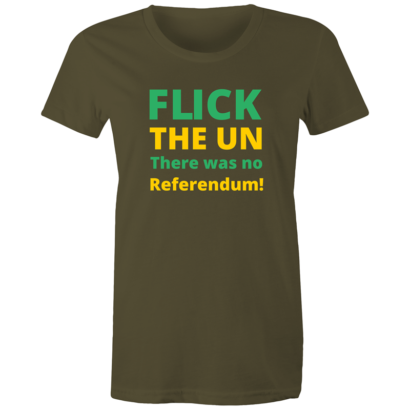 Maple Tee – Flick the UN there was no referendum - Women's