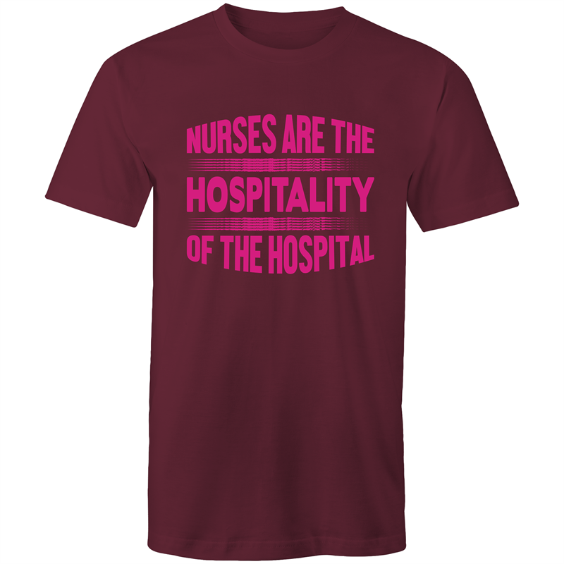 Colour Staple T-Shirt – Nurses are the hospitality - Mens
