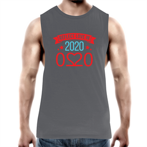 Tank Top Tee – Reflect love in 2020 - Darker colours - Mens