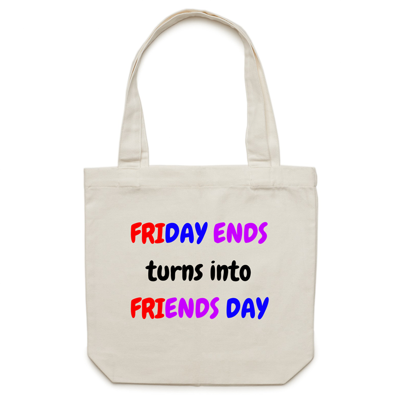 Canvas Tote Bag - Friends Day - Carrie