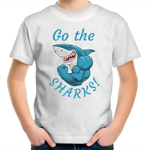 Sportage Surf - Go the sharks - Kids Youth T-Shirt