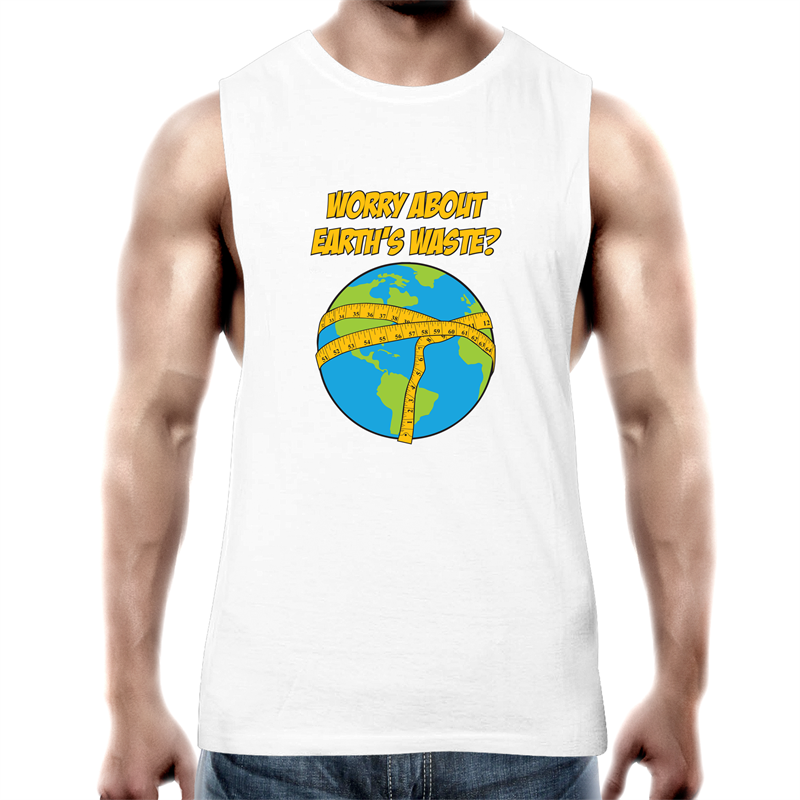 Tank Top Tee - Earths Waste - Mens