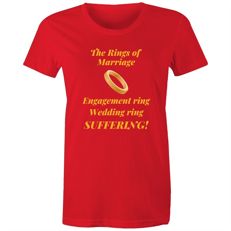 Maple Tee – The rings of marriage - Women's