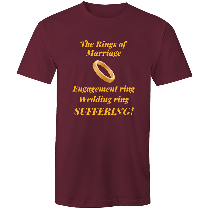 Colour Staple T-Shirt – The rings of marriage - Mens