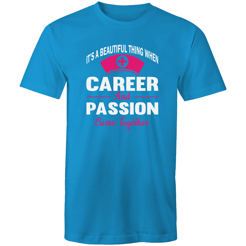 Colour Staple T-Shirt – Its a beautiful thing when career and passion come together - Mens