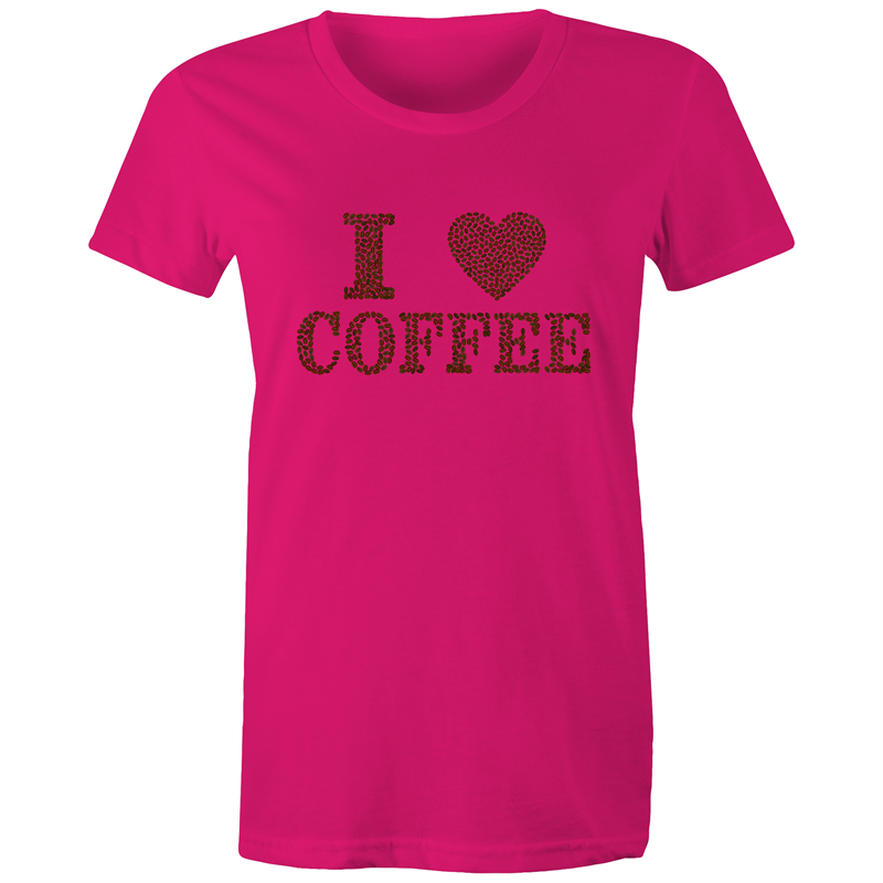 Maple Tee – I Love Coffee - Women's