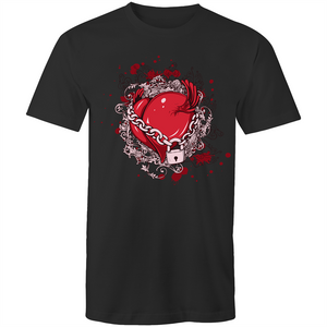 Colour Staple T-Shirt – Chained Love - Mens