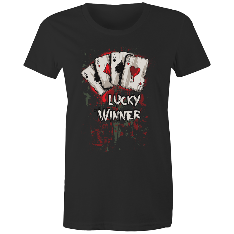 Maple Tee – Lucky winner - Women's