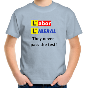 Sportage Surf - Labor Liberal never pass the test - Kids Youth T-Shirt