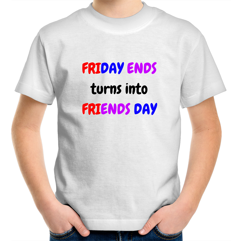 Sportage Surf - Friends Day - Kids Youth T-Shirt