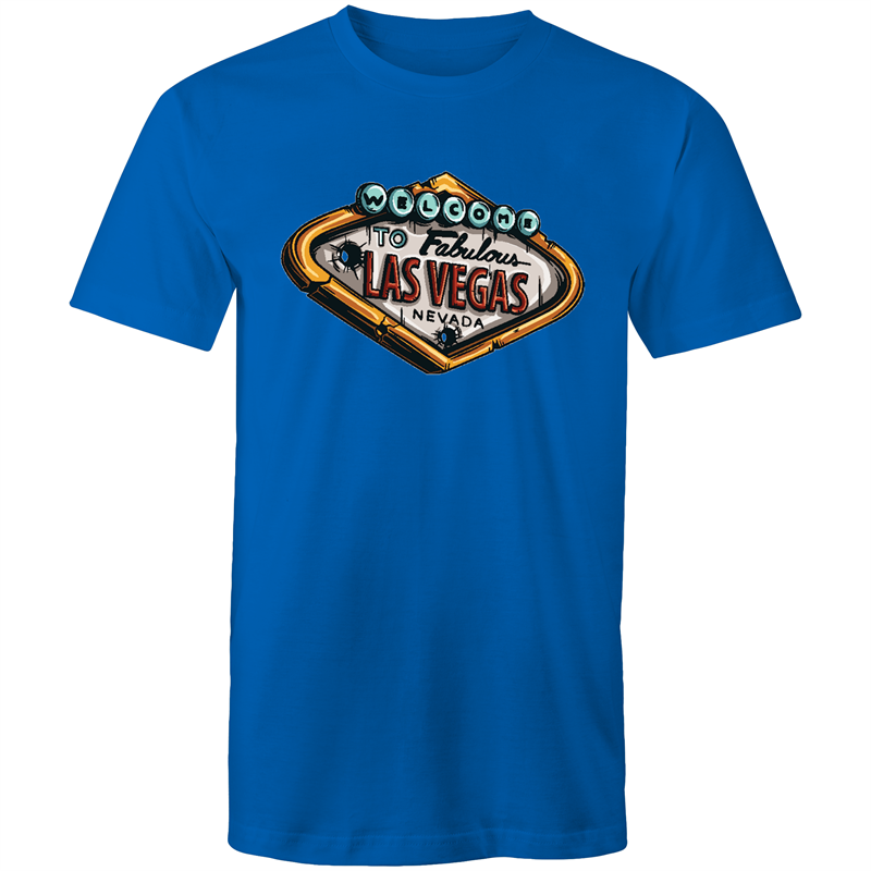 Colour Staple T-Shirt – Welcome to Las Vegas - Mens