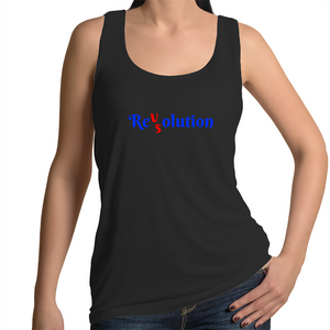 Singlet - Revolution VS Resolution - Women's
