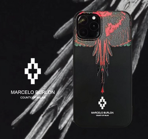Animal Wing Marcelo Burlon Italy Milan Cover Case For Apple Iphone 11 Pro Max Xr Xs X 6 7 8