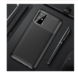 Luxury Carbon Fiber Tpu Shockproof Case For Samsung Galaxy S20 Ultra Note 20
