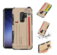 Load image into Gallery viewer, Shockproof Wallet Phone Bag Holder Card Slot Shell Hülle funda custodia Coque Case For Samsung Galaxy S10 S9 S8
