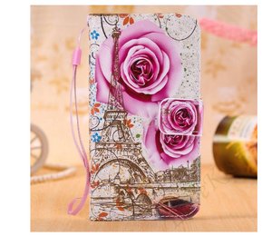 Wallet Love Flower Flip Cover Shell Hülle funda custodia Coque Case For Apple Iphone 6 7 8 X XR XS Max 11 Pro