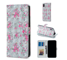 Load image into Gallery viewer, Flower Flip Cover Card Slot Wallet Shell Hülle funda custodia Coque Case For Apple Iphone 6 7 8 X XR XS Max 11 Pro