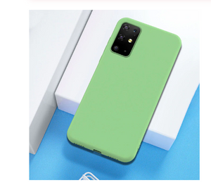 Soft Silicone Candy Color Cover Shell Hülle funda custodia Coque Case For Samsung S20 S10 A10 A20 A30 A40 A70