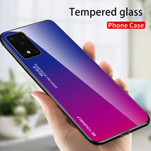 Load image into Gallery viewer, Tempered Back gradient Color Cover Case For Samsung Galaxy S20 S10 All Series A