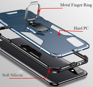 Shockproof Armor Magnetic Stand Cover Case Shell Hülle funda custodia For Samsung Galaxy S20 S10 All Series A