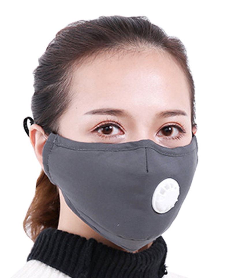 Masque Anti Pollution anti dust Virus mask Face carbon Cotton filter PM 2.5
